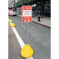 Recycled Rubber Sign Base Kit