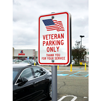 Veteran Parking Sign