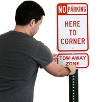 Parking Not Allowed Sign