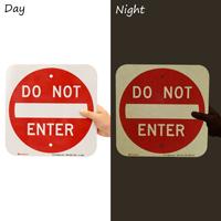 DO NOT ENTER Property Sign