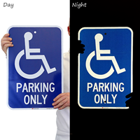 ADA Handicapped Parking Only Sign