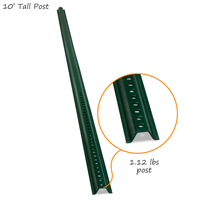 High Strength U-Channel Sign Post