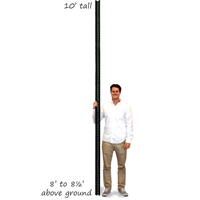 Heavy Duty Municipal Quality U-Channel Sign Post