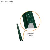 3' Tall Baked Enamel Post