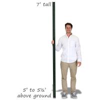 Standard U-Channel Signs Post - 7' tall