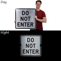Do Not Enter Parking Lot Sign