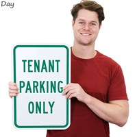 TENANT PARKING ONLY Reserved Parking Sign
