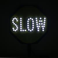LED Stop Slow Paddle