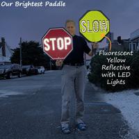 Bright LED stop slow paddle