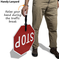 Stop paddles handy lanyard