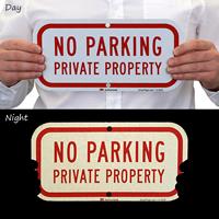 No Parking Driveway Sign
