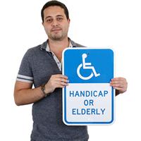Handicap Or Elderly (with Graphic)