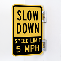 Slow Down Sign