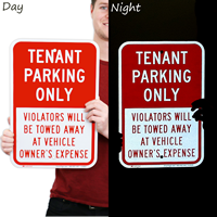 Tenant Reserved Parking Sign