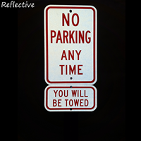 Violaters will Be Towed