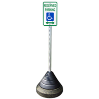 Sign Post Base Weight