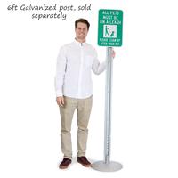 Lightweight Sign Base