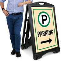 Parking A-Frame Portable Sidewalk Sign