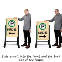 Parking A-Frame Sign Kit