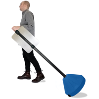 Cone-shaped Portable Sign Holder