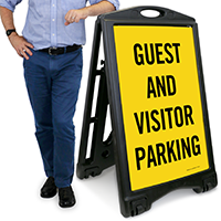 Guest And Visitor Parking Sign