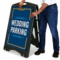 Wedding Parking Portable Sign