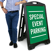 Special Event Parking Sign