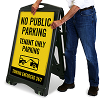 Tenant Only Parking Sign