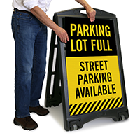 Street Parking Available Sign