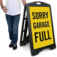 Sorry - Garage Full Sign