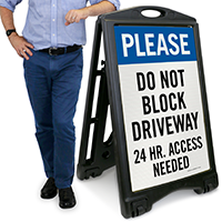 24 Hour Access Needed Sign
