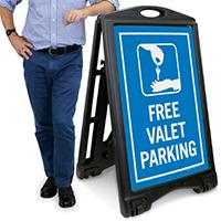 Free Valet Parking Sign