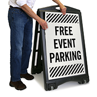 Free Event Parking Sign