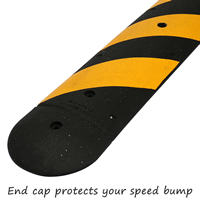 100% Recycled Rubber Speed Bump