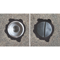 City Post Embedded Anchor Cup Plug Cap
