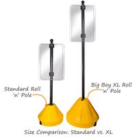 Big Boy XL Roll 'n' Pole Yellow Base
