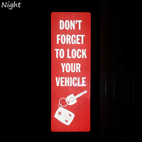 Do Not Forget To Lock Your Vehicle with Graphic