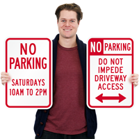 Custom Parking Sign,Diamond Grade