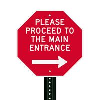 Custom Traffic Metal Sign
