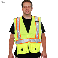 Yellow LED Safety Vest