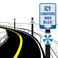 IceAlert Roadway Reflectors