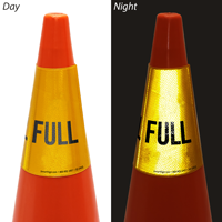 Full Cone Message Collar Sign