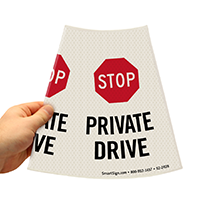 Stop Parking Sign