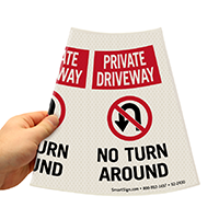 Private Driveway Road Traffic Sign