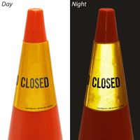 Closed Cone Message Collar Sign