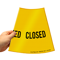 Closed Parking Sign