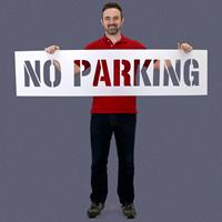 Parking Stencil