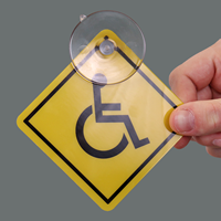 Handicapped On-Board Car Hang Tags and Label