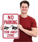Tow Away Signs