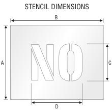 Stencil ST 0053